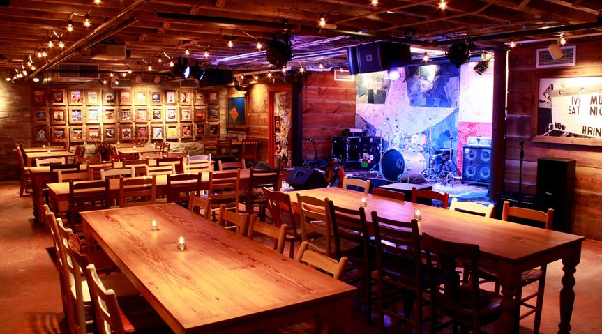 boot bar stage