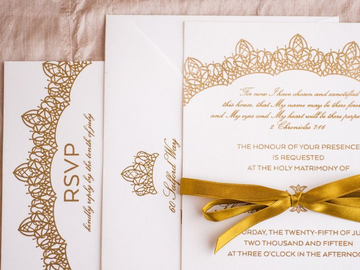 Tmx 1462564715530 Hani Philadelphia wedding invitation