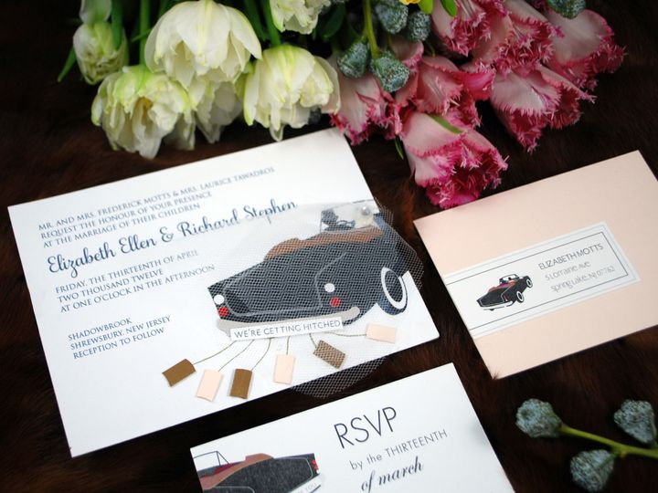 Tmx 1462564970283 Rick Elizabeth Philadelphia wedding invitation