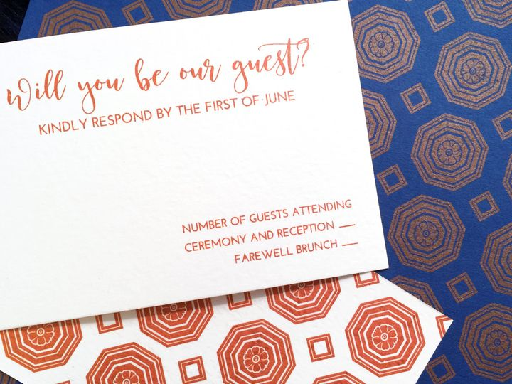 Tmx 1463767858068 Ali Pattern Philadelphia wedding invitation