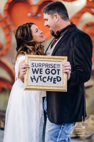 Neon Museum Wedding Photos