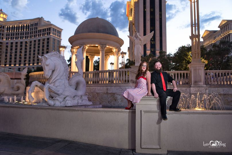 Las Vegas Strip Wedding