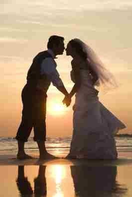 bridegroomsunsetbeachnet
