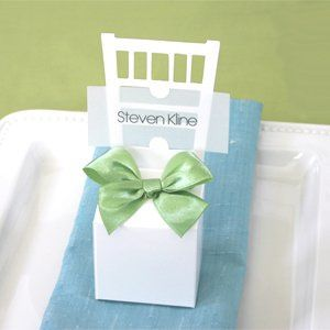 Tmx 1300925990411 ChairPlaceCardBoxes Bethlehem wedding favor