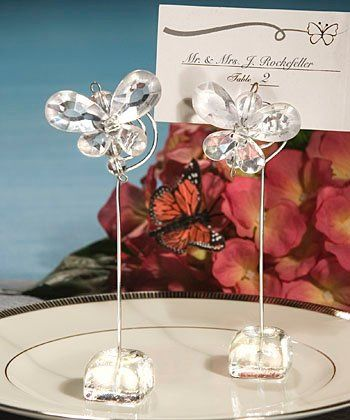 Tmx 1300926013239 ClearCrystalButterflyPlaceCardHolderFavors Bethlehem wedding favor