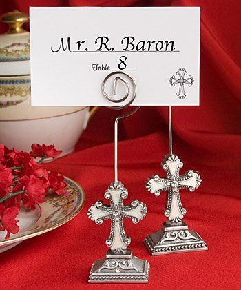 Tmx 1300926049614 CrossDesignPlaceCardHolderFavors Bethlehem wedding favor