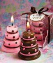 Tmx 1300926234801 LusciousPinkandBrownWeddingCakeCandleFavor Bethlehem wedding favor