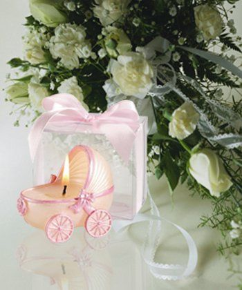 Tmx 1300926305598 PinkTrimBabyCarriageCandleFavor Bethlehem wedding favor