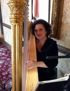 Performing at a beautiful wedding at Preston Woodall House.