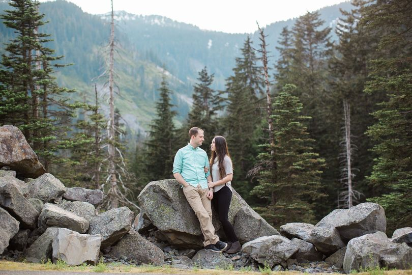 franklin falls snoqualmie engagement seattle wed