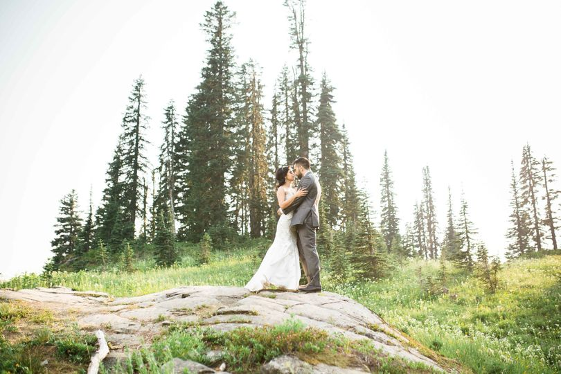 mt rainier tipsoo lake bridal photographyseattl