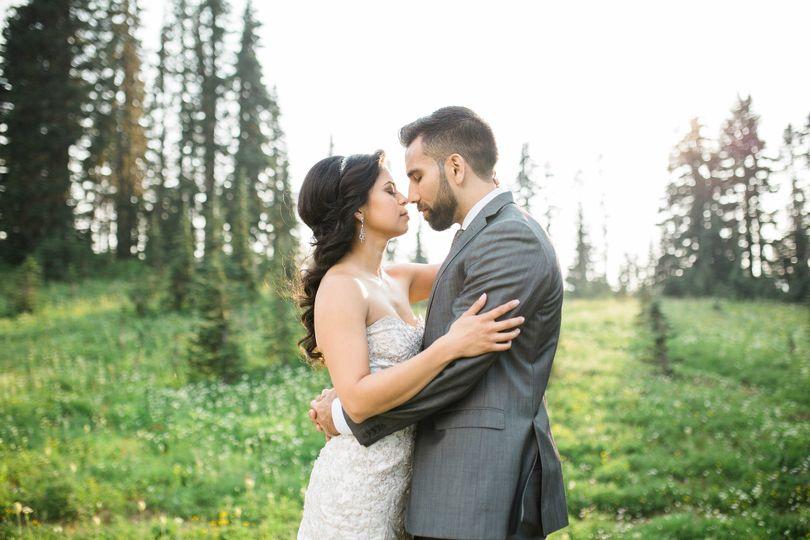 mt rainier tipsoo lake bridal photographyseattle