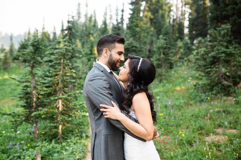 mt rainier tipsoo lake bridal photographyseattl