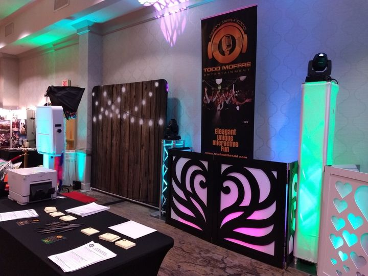 DJ and Photo Booth Display