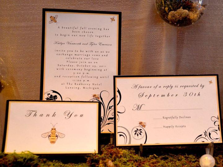 Tmx 1342455258649 Buzzingwithjoy2 Hampton wedding invitation