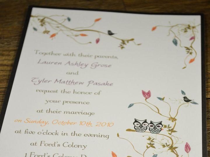 Tmx 1342455283646 Hootinvite Hampton wedding invitation