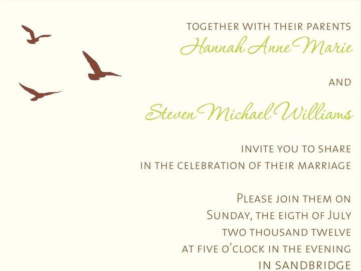 Tmx 1342455308848 Oceaninvitesml Hampton wedding invitation