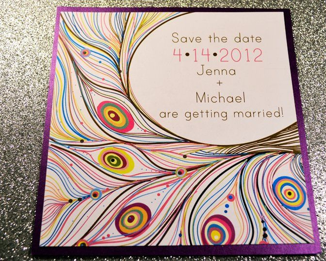 Tmx 1342455319983 Plumesavethedate Hampton wedding invitation