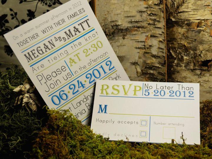 Tmx 1342455369235 3 Hampton wedding invitation