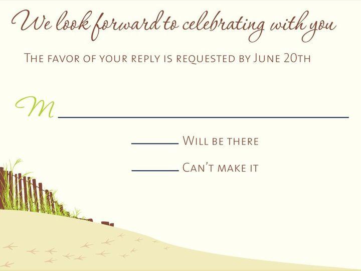 Tmx 1350406833061 Oceanrsvp Hampton wedding invitation