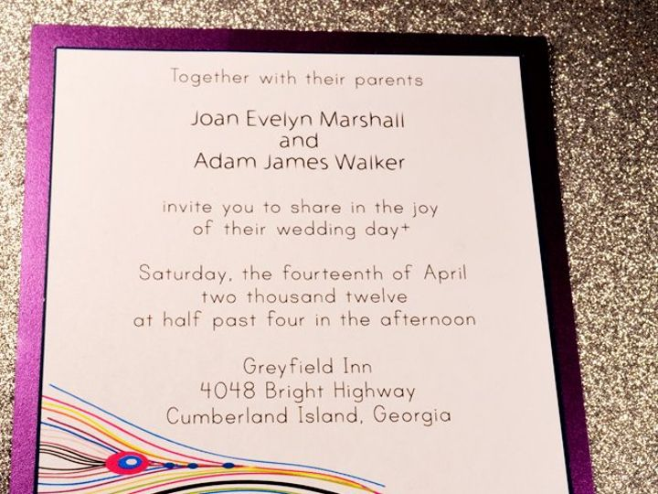 Tmx 1350406892829 Plumeinvitation Hampton wedding invitation