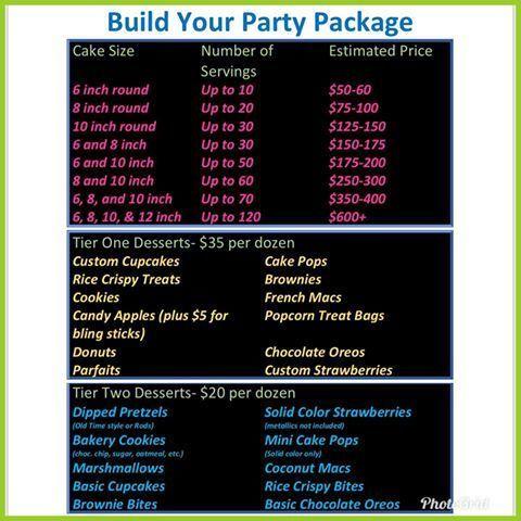 Tmx 1533270755 A07fbda440e6fa7d 1533270755 770057680e72aac4 1533270754484 1 Price List Sacramento wedding cake
