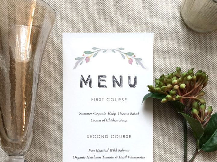 Tmx 1456514709927 White Jayla Menu 2 Philadelphia, PA wedding invitation