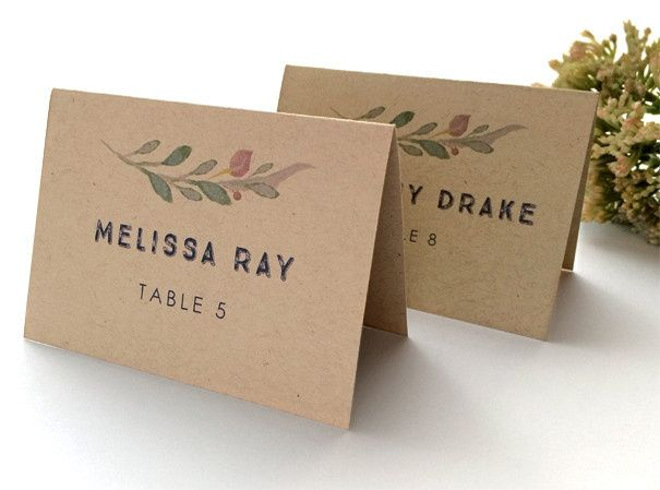 Tmx 1457714512357 Jayla Kraft Place Cards Philadelphia, PA wedding invitation