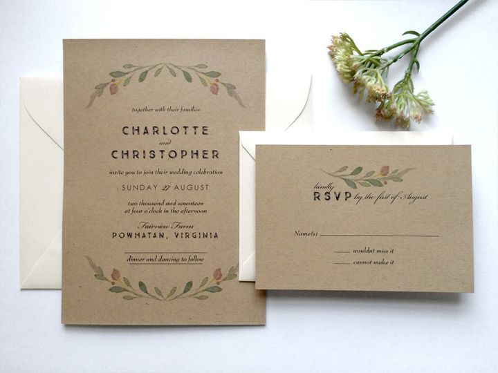 Tmx 1457714541328 Charlotte 1 Philadelphia, PA wedding invitation