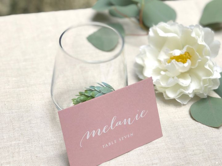 Tmx Blush Pink Flat Place Card 4 51 907034 157850516441713 Philadelphia, PA wedding invitation