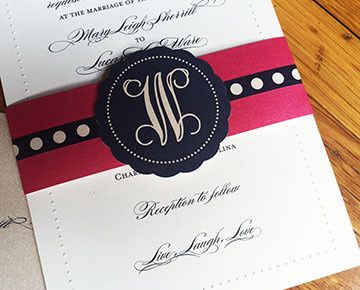 Tmx 1472649392752 Invite 2 Charlotte, NC wedding invitation