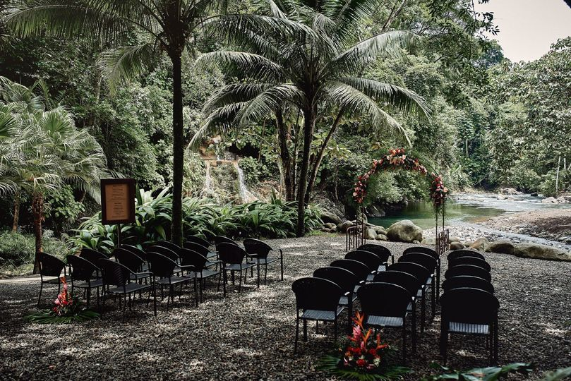 Waterfall venue