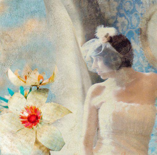 Bridal Designed Portrait on Canvas
