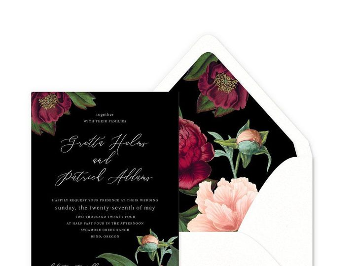 Tmx 1537369416 1b380127f9735b8e 1537369415 E459afded66fc082 1537369413201 7 Smitten Fairfield, CT wedding invitation
