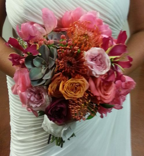 Sample flower bouquet