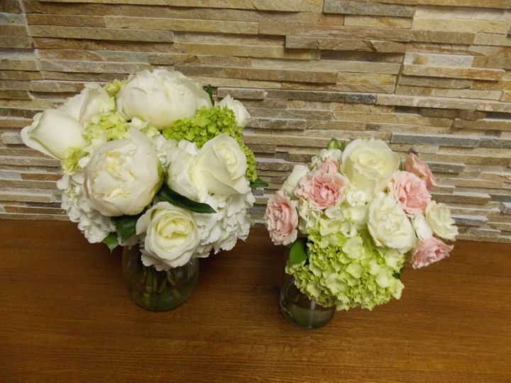 Tmx 1378664246583 Bride And Bridesmaid Charlotte wedding florist
