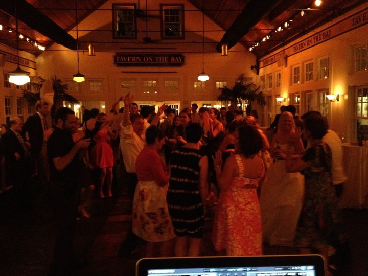 View from the DJ booth
