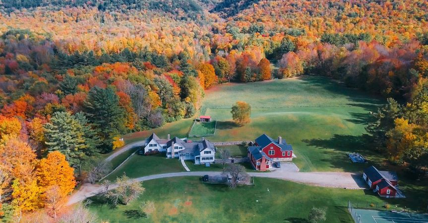Fall at Boorn Brook Farm