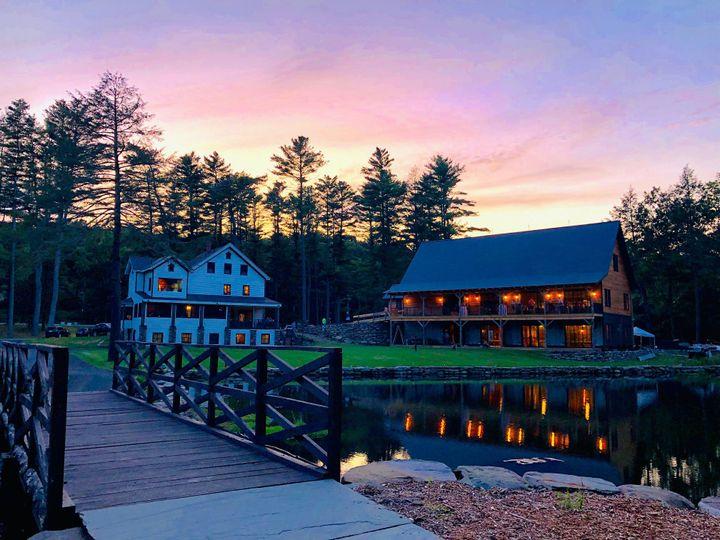 The Cottage at dusk