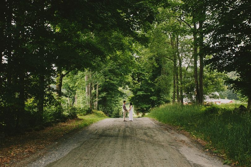woodstock vermont engagement session