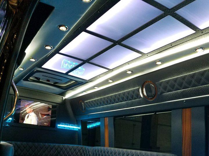 Tmx 12pax Sprinter Limo Interior 51 43134 158617138349338 Indianapolis wedding transportation