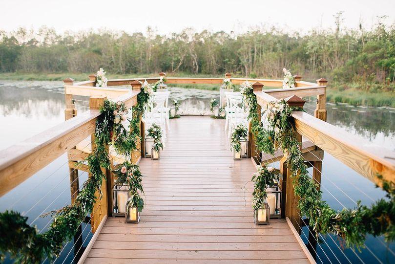 Lake Austin Pier Ceremony