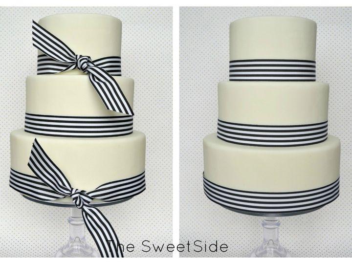 Tmx 1436227688729 Kate Collage Branded Seattle wedding cake