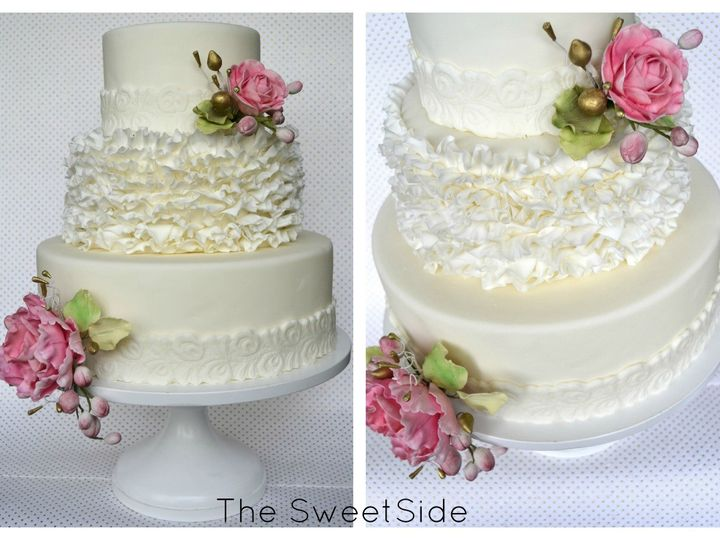Tmx 1436227693966 Lacy Collage Branded Seattle wedding cake