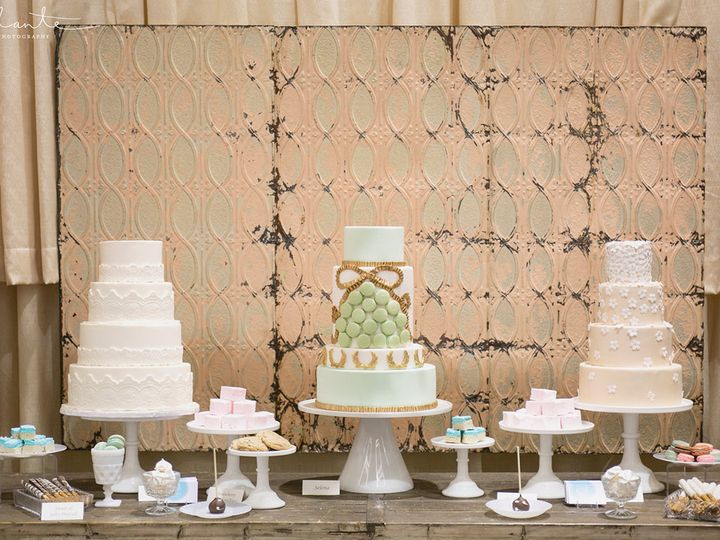 Tmx 1436227731636 Trio.show.alante Seattle wedding cake