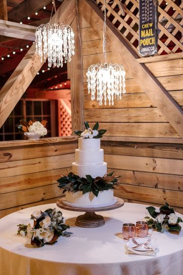 Cake Table Lighting done in house for any budget