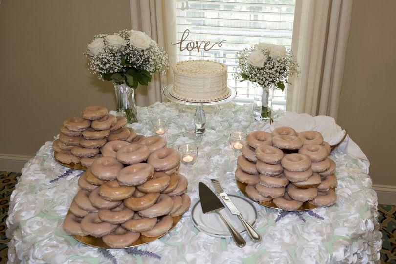 Doughnuts and cake