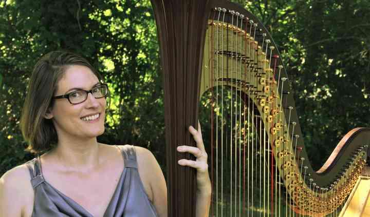 Harpist Alyson Webber
