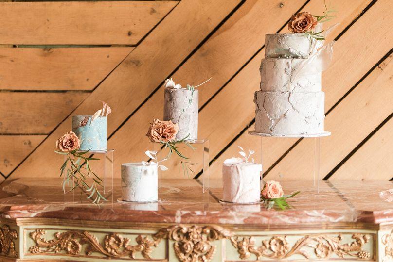 Age Stone Wedding Cakes