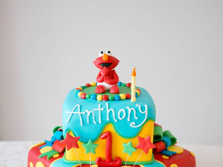 Tmx 1485909973149 20160827 083321 Sesame Street Cake Warrenton, VA wedding cake